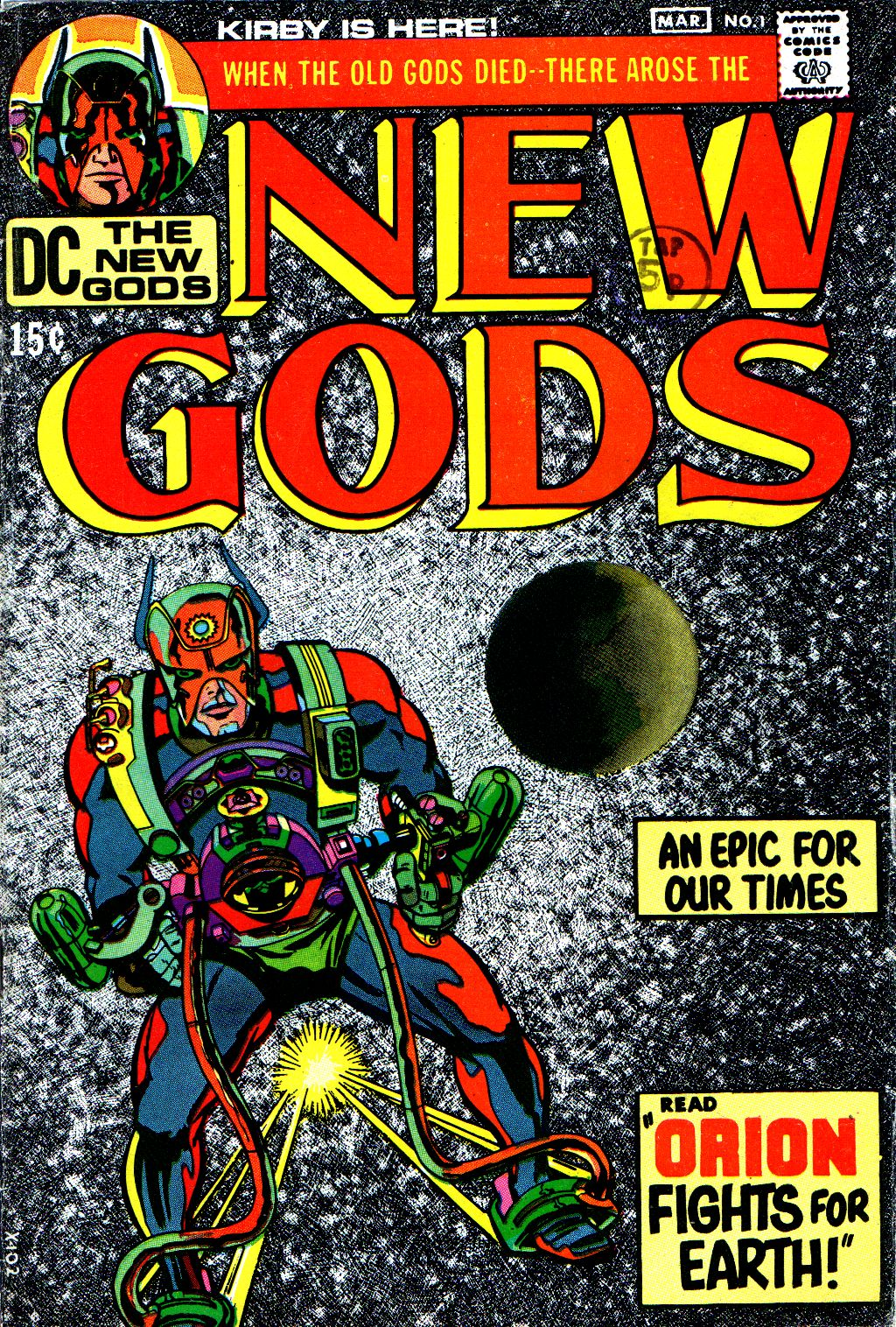 The New Gods (1971) issue 1 - Page 1