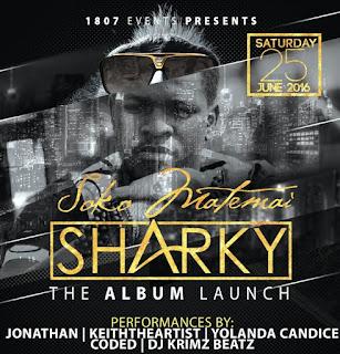 [feature]Sharky - Soko Matemai Album Launch