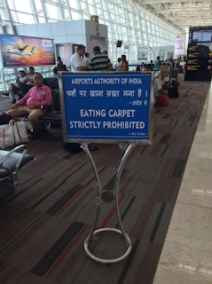 airports authority of india funny sign fail