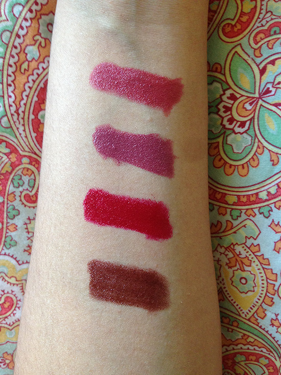 Urban Decay Vice Lipsticks Manic, Urban Decay Vice Lipsticks Crisis, Urban Decay Vice Lipsticks Rocksteady, Urban Decay Vice Lipsticks Nighthawk