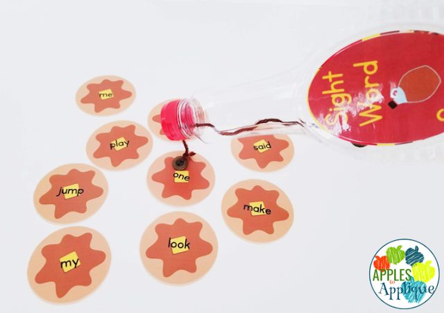 Pancake Sight Word Activity | Apples to Applique