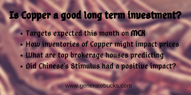 Is Copper a good investment for long term?