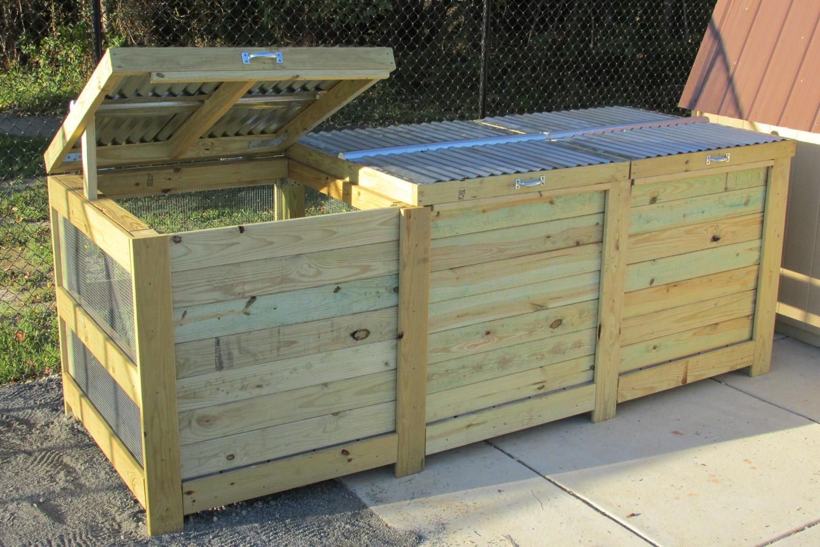 LoriBees Garden: Rat Update And A Compost Bin Retrofit
