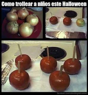 como trollear a los niños en halloween