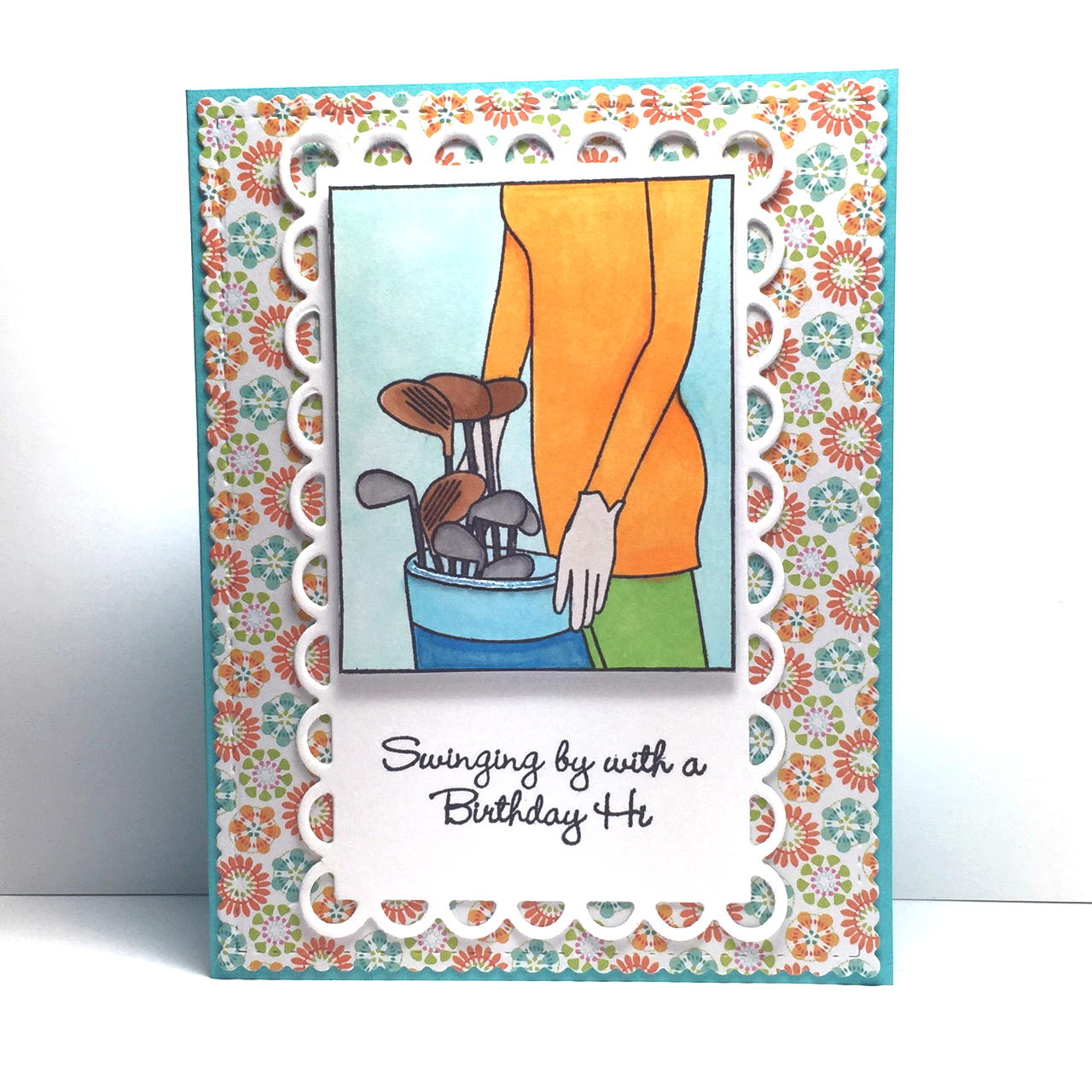 Greenwood Girl Cards A Special Birthday Card Stamped With Whos