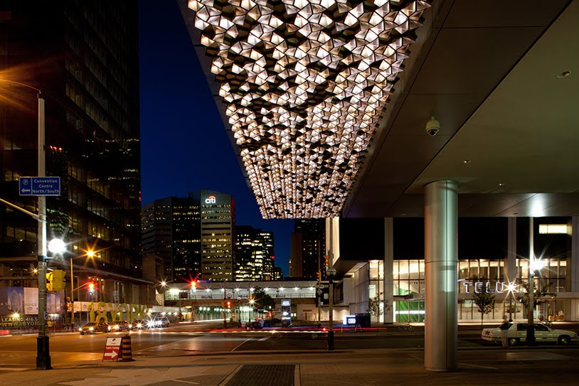 Lighting Design Post: A Great Canopy Lighting from ...