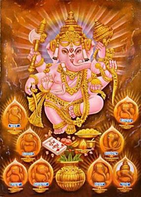 lord-ganesha-6-statues-of-bhagvan-ganesh
