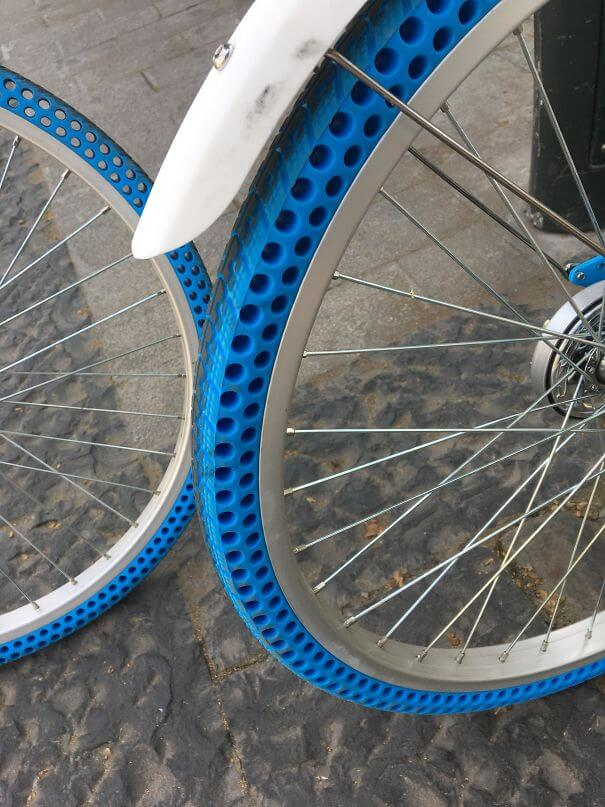 20 Brilliant Ideas That Should Become Reality Everywhere - These Bikes Have Airless Tires