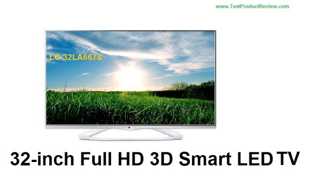 LG 32LA667S 32-inch Full HD 3D Smart LED TV