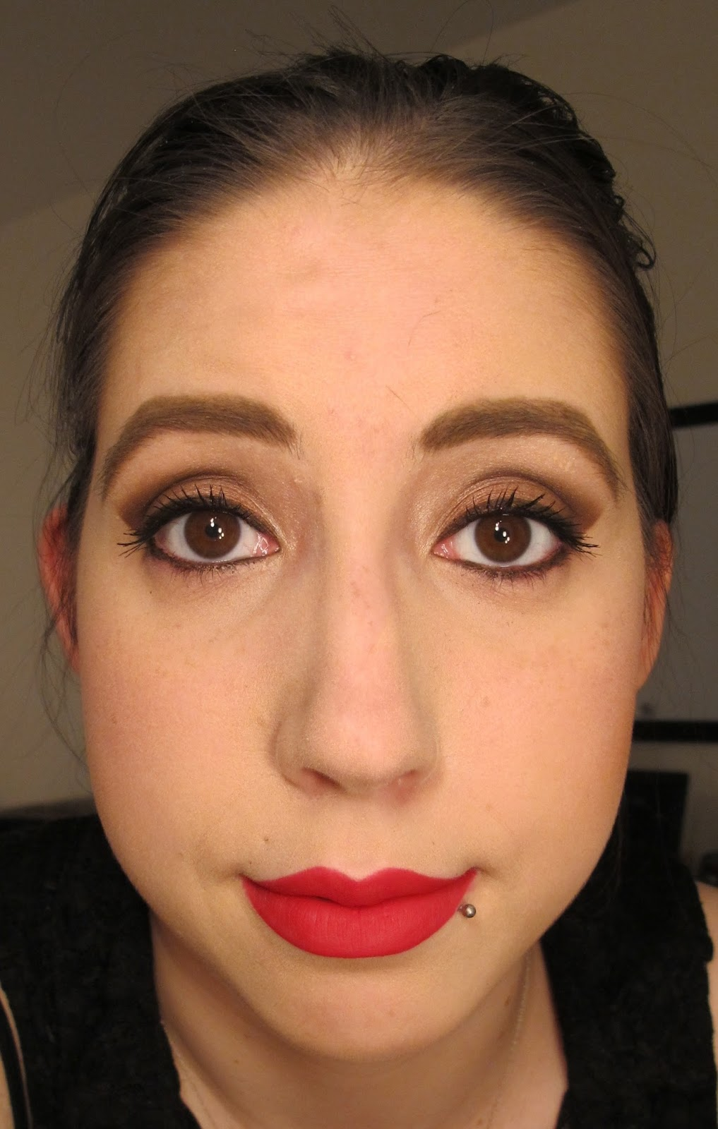Fall Makeup Pumpkin Spice Inspired: Steph Stud Makeup: Fall Makeup Look Using MAC