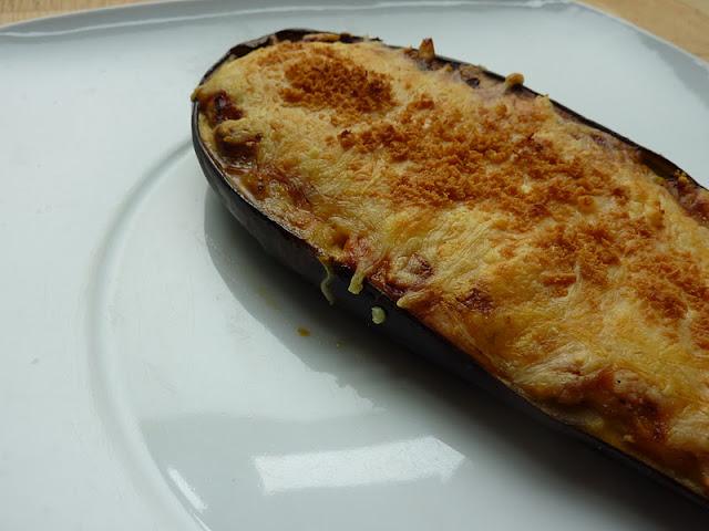 Berenjenas rellenas de at n cocina y thermomix for Cocina berenjenas rellenas