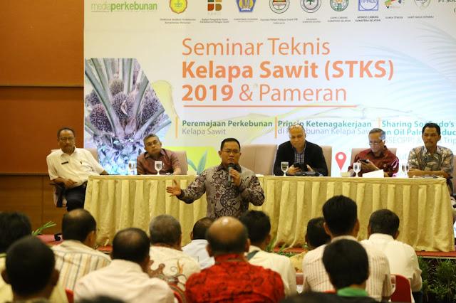 Paparkan Program Berkelanjutan Kelapa Sawit di Muba, Bupati Muba Pukau Peserta STKS