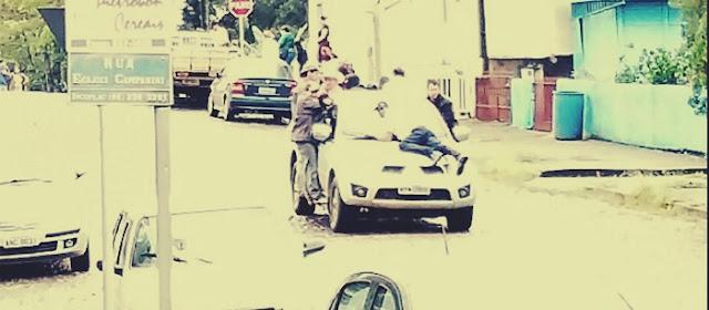 Pânico durante assalto ao Banco Bradesco de Palmital