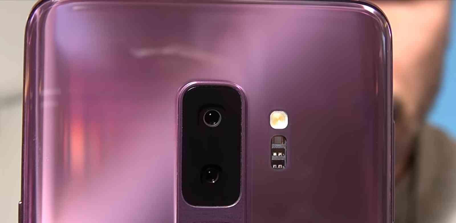 S9 Plus Dual Lens Camera