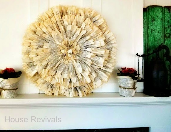 House Revivals: Juju Hat Wall Decor Tutorial