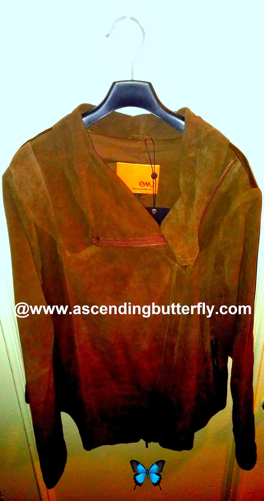 Emu Australia Roseberry Jacket Chocolate