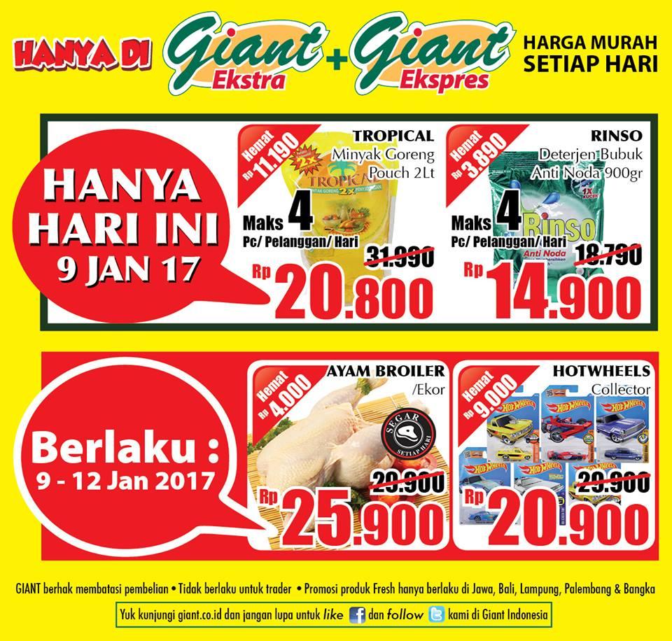 Katalog Harga Promo Giant 9 – 12 Januari 2017