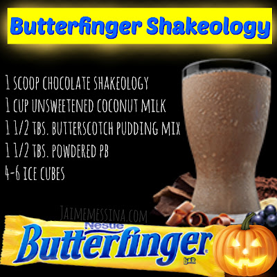 buttenerfinger shakeology, healthy candy recipe, clean eating candy, healthy hallowe