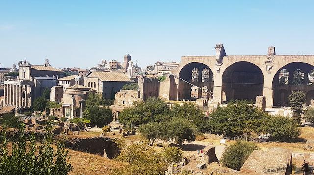 Fórum Romano, Monte Palatino, Roma, Itália