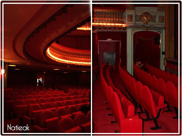 salle du théâtre Hébertot de Paris