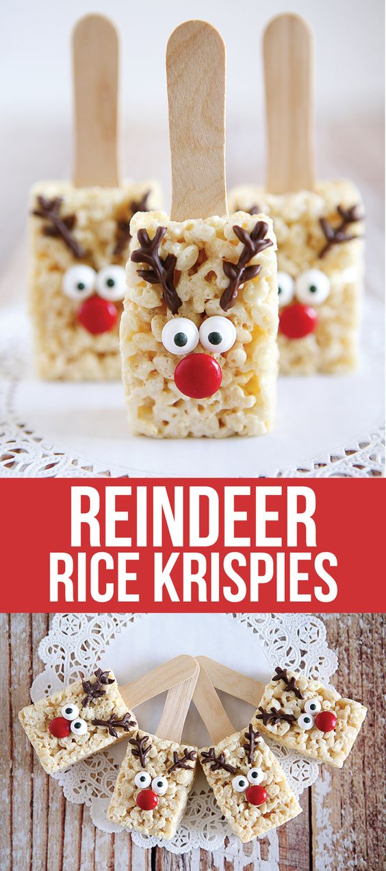 ★★★★☆ 2909 ratings     | REINDEER RICE KRISPIES RECIPE #REINDEER #RICEKRISPIESRECIPE #CRUCH