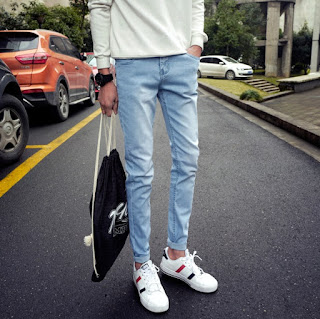 Celana Jeans Pria Korea Model Terbaru Juni 2016