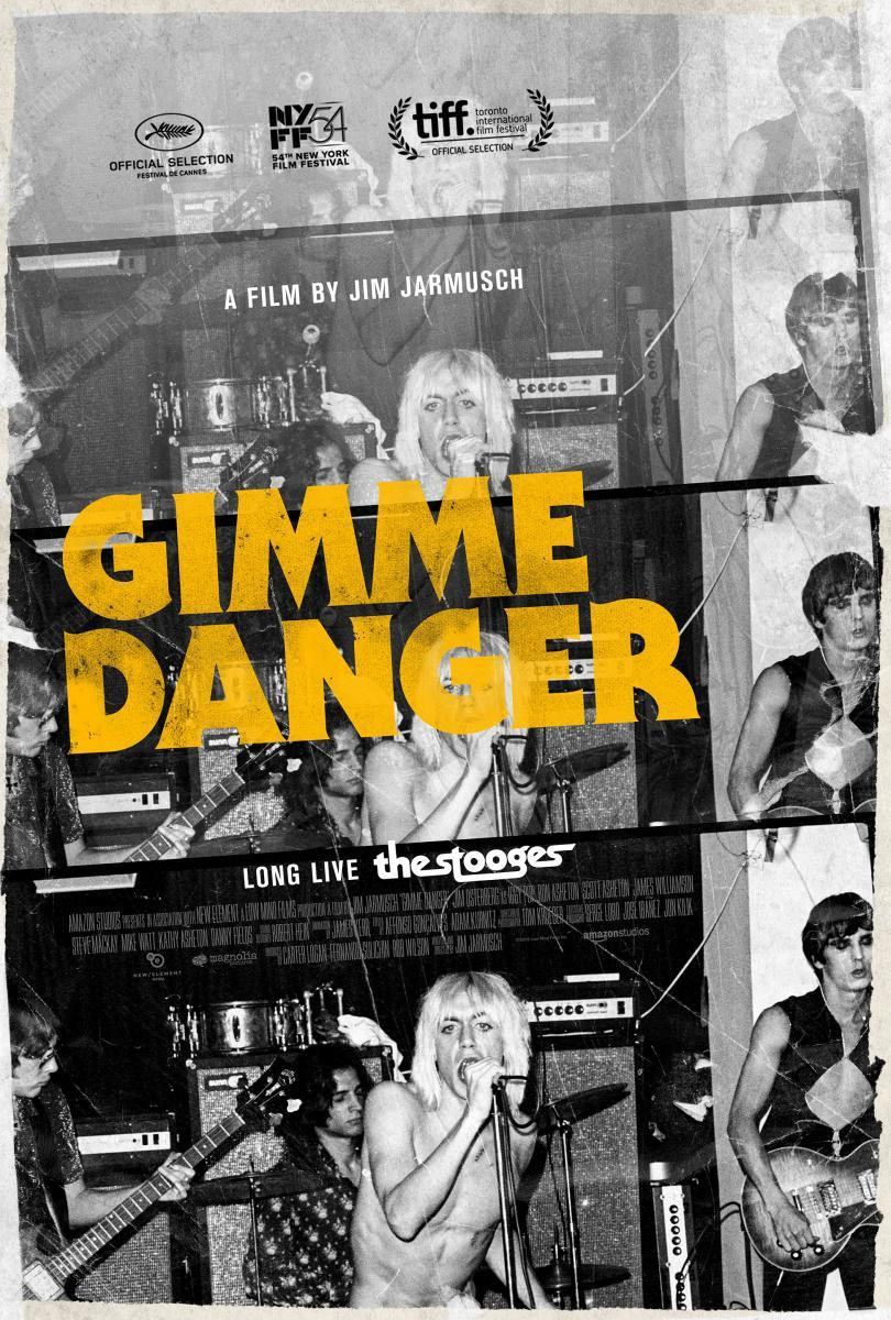 GIMME DANGER - LA HISTORIA DE IGGY POP - documental