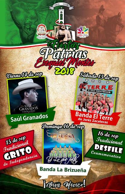 fiestas patrias ezequiel montes 2018