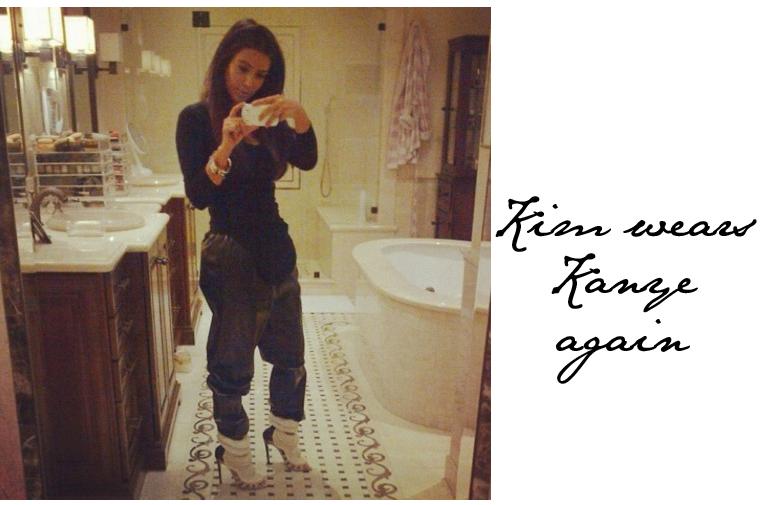 Kim Kardashian Kanye Heels
