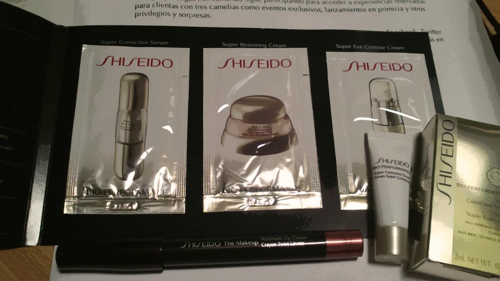 regalos shiseido