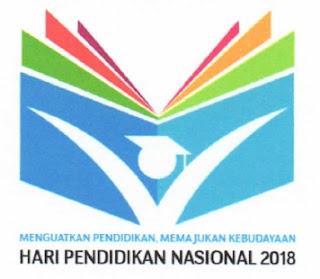 Logo Peringatan Hardiknas Tahun 2018