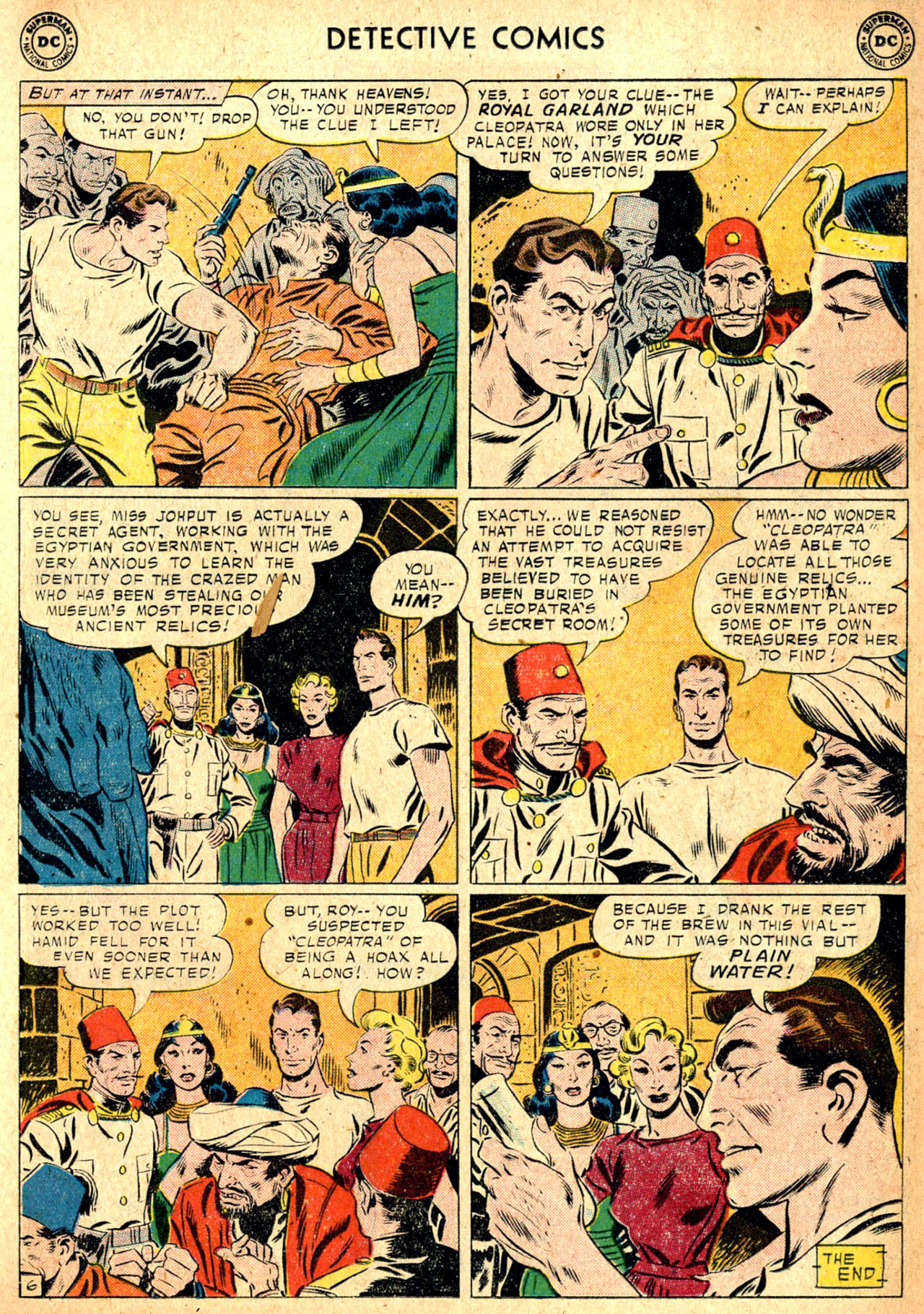 Read online Detective Comics (1937) comic -  Issue #257 - 23