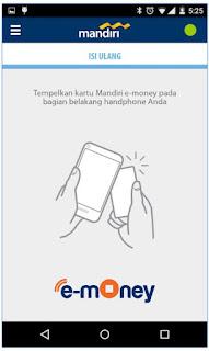 Cara Isi Ulang EToll Dengan Android