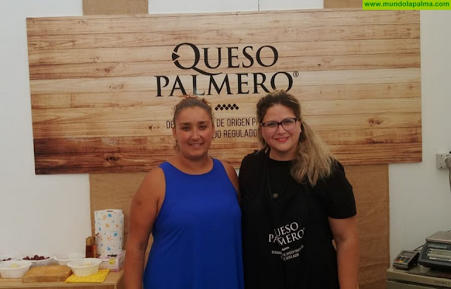El Queso Palmero asiste a la XXXII Feria Insular de Artesanía