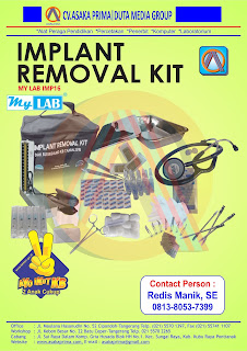 JUAL Produk IMPLANT REMOVAL KIT  dak bkkbn 2016 , Produk Implant Removal Kit Juknis 2016