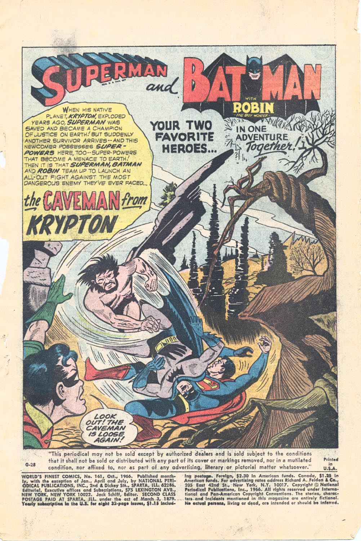 Read online World's Finest Comics comic -  Issue #161 - 3