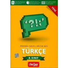Değer 8.Sınıf Türkçe Öğrenci Takipli Eğitim Seti
