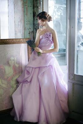 Vestidos de Novia con Colores