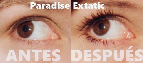 Antes Después Paradise Extatic LOreal