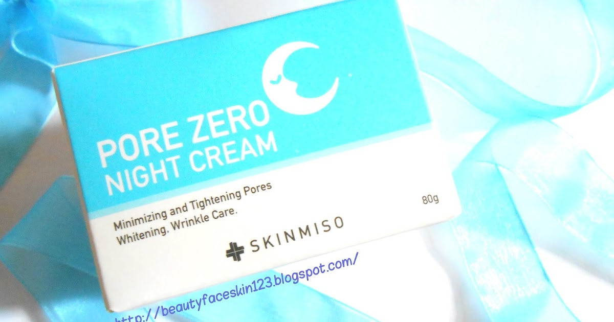 GREAT SKIN&LIFE: REVIEW ON SKINMISO PORE ZERO NIGHT CREAM