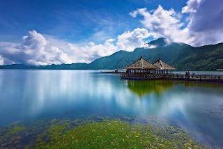 Lake Batur Kintamani Located on the highest mountain in Bali