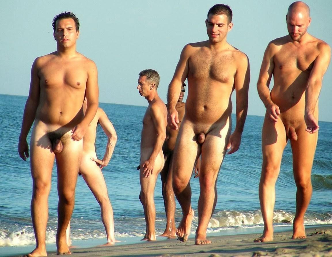 Men beach nudism public pics 4