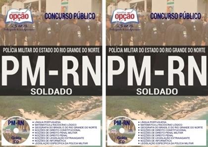 Apostila para o concurso PM RN Soldado 2018.