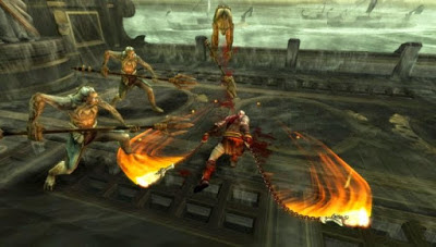 Download Game God Of War Ghost Of Sparta PSP