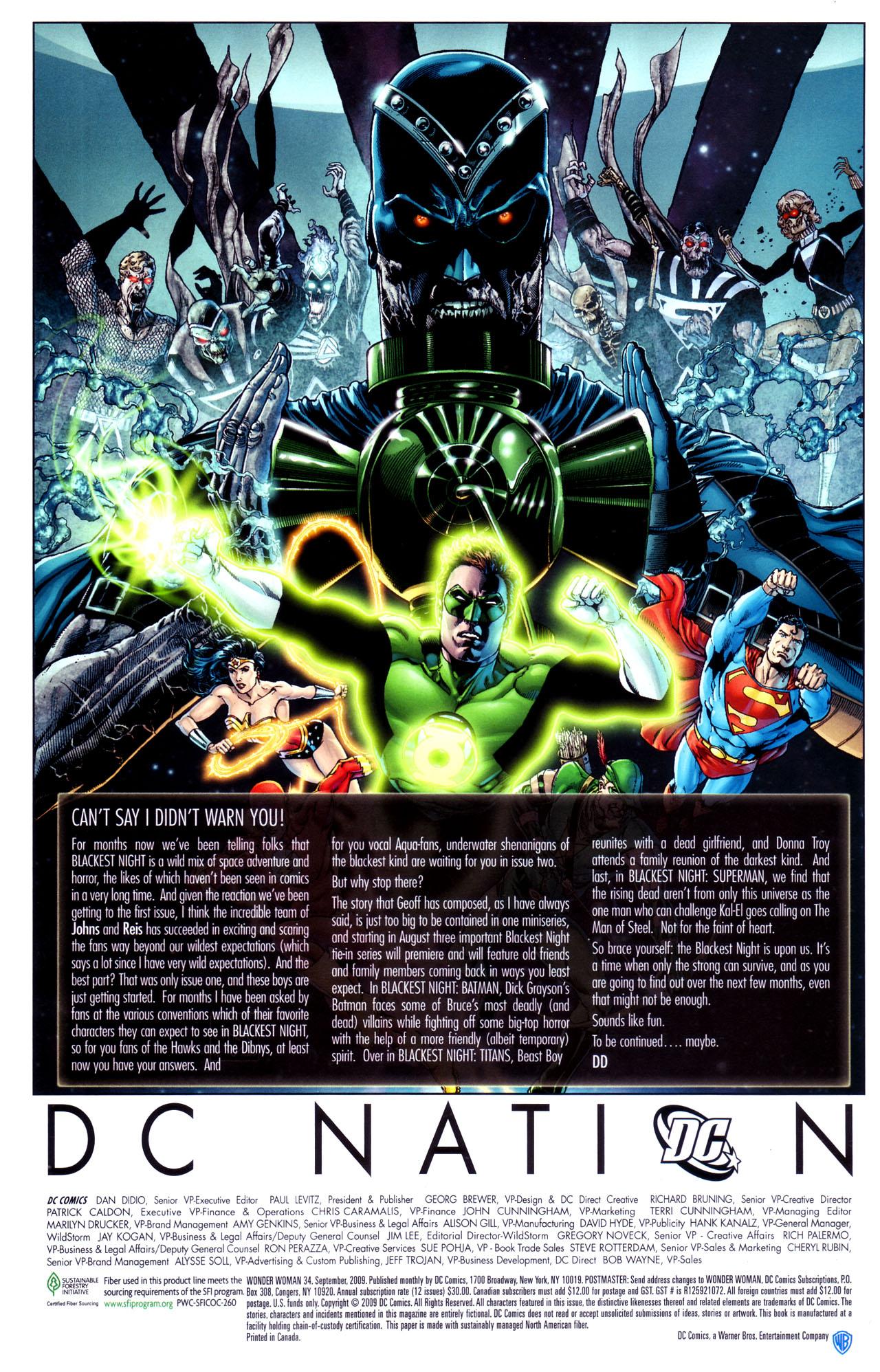 Read online Wonder Woman (2006) comic -  Issue #34 - 29