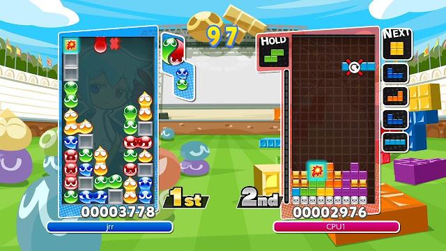 Puyo Puyo Tetris se anuncia para ordenadores