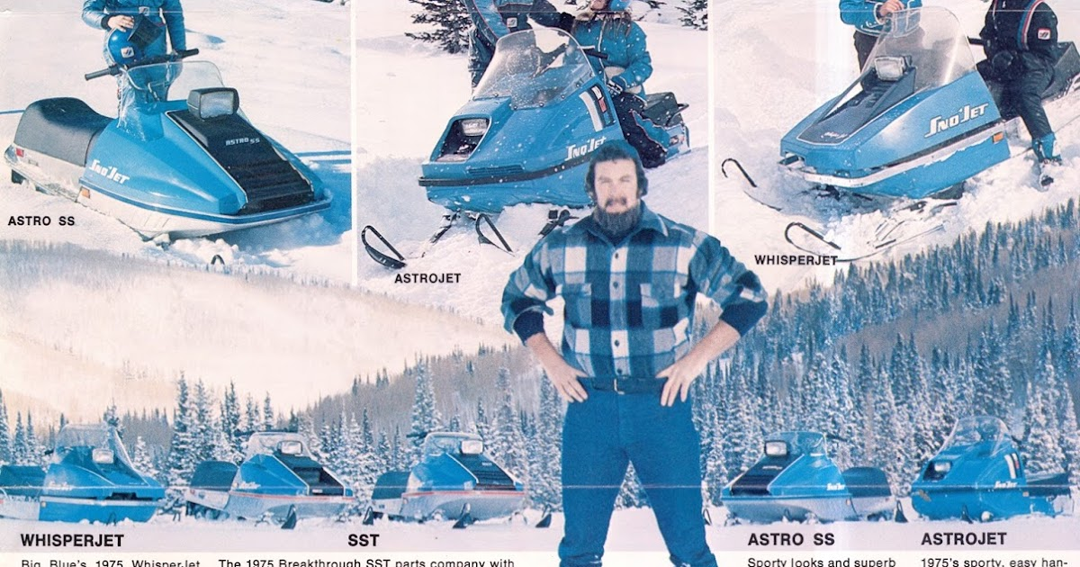 CLASSIC SNOWMOBILES OF THE PAST: 1975 SNO-JET SNOWMOBILE ...