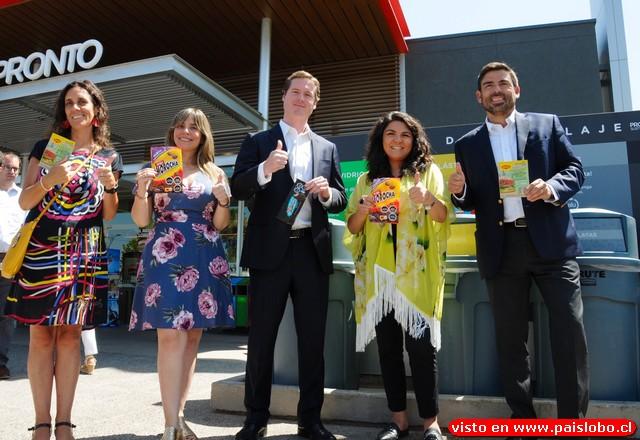 Pronto Copec y Nestlé sellan alianza que permitirá reciclar 40 toneladas de plásticos