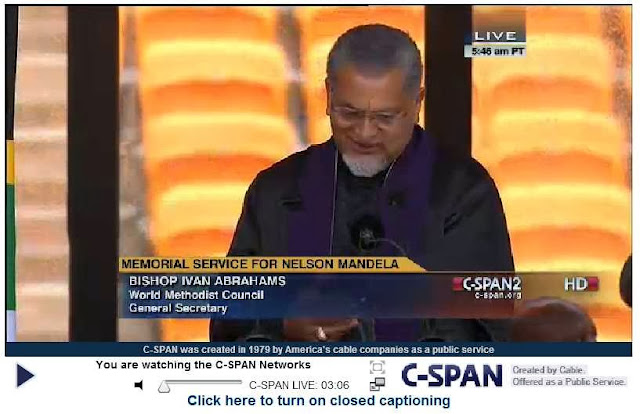 http://www.c-span.org/Events/Memorial-Service-for-Nelson-Mandela-1918-2013/10737440186-7/