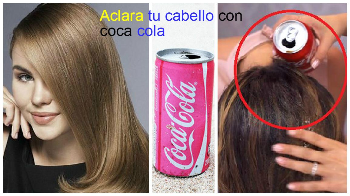 como aclarar un tinte oscuro en el cabello
